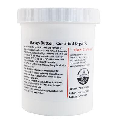 Mango Butter, USDA Certified Organic