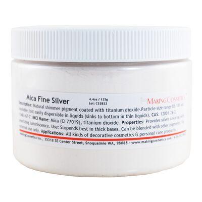 Mica Fine Silver