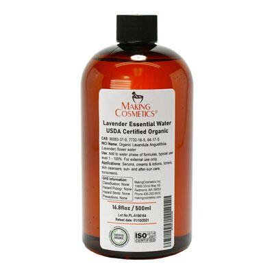 Lavender Essence Water, USDA Certified Organic