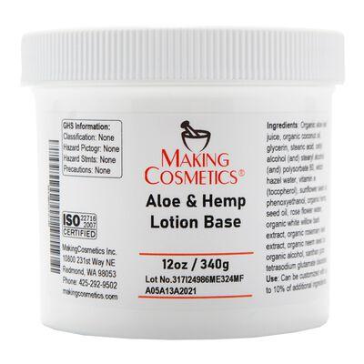 Aloe & Hemp Lotion Base