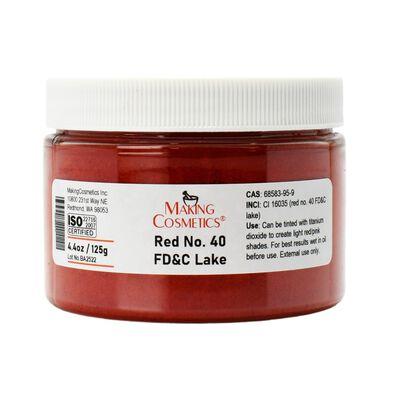 Red No. 40 FD&C Lake