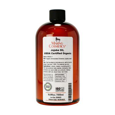 Jojoba Oil, USDA Certified Organic